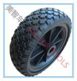 2.50-4 Rotella libera piana del motore del prato inglese del pneumatico della gomma piuma dell'unità di elaborazione