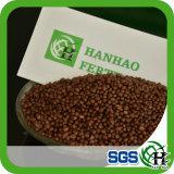 Fertilizzante granulare di agricoltura di colore del fertilizzante 18-46 Brown scuro di DAP