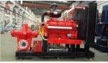 Disel Motor-doppelte Absaugung-aufgeteilte Gehäuse-Wasser-Pumpe