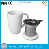 Ceramic al por mayor Tea Cup con Stainless Steel Infuser