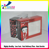 Color carré Printing Cosmetic Packaging Box avec Clear Window