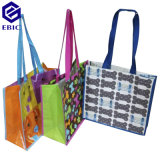 Handles와 Printing를 가진 입히는 Woven Nonwoven RPET Shopping Bag
