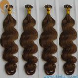 Usine Whoelsale Brésilienne Remy Keratin Extension de cheveux humains