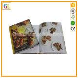 Печатание поваренной книги полного цвета книга в твердой обложке высокого качества