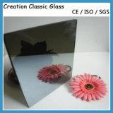 Vidro reflexivo cinzento escuro/euro- vidro reflexivo cinzento