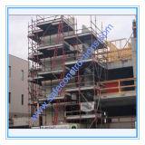 건축을%s 비계가 승인된 안전한 SGS에 의하여 직류 전기를 통했다