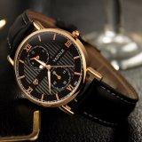 Reloj de Mens ocasional de los deportes del cuarzo de los ojos del reloj tres de la manera Z355