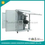 Zja -50 máquina de la purificación de aceite del transformador del vacío alto