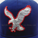 Бейсбольная кепка Sweatband Twill хлопка военно-морского флота высокого качества эластичная с изготовленный на заказ логосом
