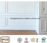 Panneau de modélisation murale décoré en MDF décoré en bois de bonne qualité