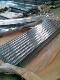 Плитка толя металла стальных листов покрытия цинка волны гофрированная гальванизированная