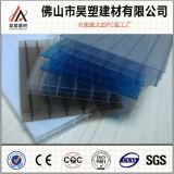 Hoja de la PC del policarbonato de la Triple-Pared para el panel acústico del toldo