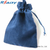 Восхитительный голубой мешок Drawstring бархата для Gift&Jewelry