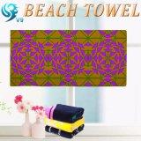 Stampa del tovagliolo di spiaggia del velluto del campione libero