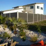 Haltbarer und umweltfreundlicher Aluminium-Zaun der Zusammensetzung-WPC