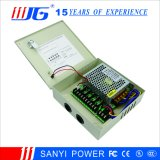 12V 3A 5CH CCTV 감시 카메라 전력 공급 60W 금속 상자 힘