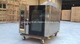 Brot-Maschine, Konvektion-Ofen des Gas-5-Tray von der realen Fabrik