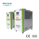 Refrigeratore di acqua industriale raffreddato aria per la macchina di plastica dell'iniezione
