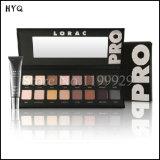 Dois tipos composição fumarento da paleta da sombra cores cosméticas da paleta 16 de Lorac da sombra de olho das PRO