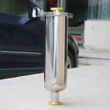 Filtración sanitaria Polished de la válvula del acero inoxidable de la alta calidad con el cárter del filtro del tubo SS304 de los Ss 316