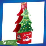 Navidad de cartón Publicidad / Recorte de pasajeros de pie de visualización