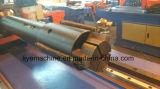 Dw38cncx2a-1s 3 Mittellinie CNC-hydraulisches Stuhl-Stahlgefäß-verbiegende Maschine