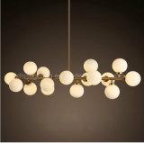 A molécula 2017 mágica do feijão do diodo emissor de luz da iluminação do pendente da originalidade de Dlss decora candelabros interiores