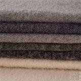 Tissus de laines et de coton pour la couche de l'hiver dans le blanc