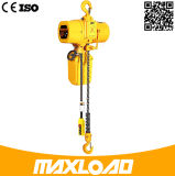 alzamiento de cadena eléctrico 380V de 0.5t los 5m con el gancho de leva
