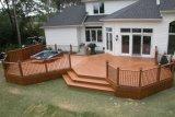 300 * 300 * 22mm WPC DIY Decking, Hot Sale Standard européen WPC DIY Floor pour balcon et meubles de jardin