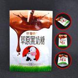 Transperant Fastfood- Plastiktasche für Süßigkeit-Paket mit Reißverschluss
