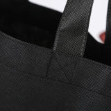 Sedexの監査のショッピングのためのカスタムロゴの印刷のFoladableのNon-Woven袋