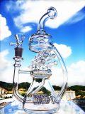 Tubulação de água de vidro de fumo colorida de Enjoylife da tubulação de água no ovo de vidro de Faberge do Mothership conservado em estoque