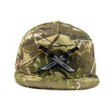 Крышка Snapback вышивки хлопка камуфлирования выдвиженческого подарка шлема отдыха 5 панелей изготовленный на заказ