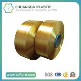 hilado de los PP FDY de la alta calidad del filamento 1200d 100 para tejer