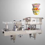 Materiale da otturazione della tazza e macchina di plastica automatici di sigillamento