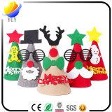 La Navidad suministra el sombrero brillante de la Navidad del LED