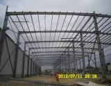 Il progetto di costruzione della struttura d'acciaio/ha prefabbricato la struttura d'acciaio chiara