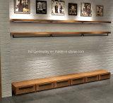 Slatwall Painel de roupas de suspensão Wallboard Display Rack para loja de roupas Decoração