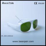 Toepassing: IPL Machine/de Bril van de Veiligheid van Ce En169 IPL Eyewear 2001400nm met Wit Frame 52