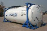 Réservoir de conteneur ISO de 20 FT LPG pour transport de gaz