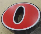 signes d'Avant-Lit de 3D DEL avec l'interpréteur de commandes interactif peint de lettre d'acier inoxydable et le panneau avant acrylique d'épaisseur de 20mm pour Aigle