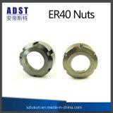 Tuerca de la serie Er40 para la tirada de cerco para la máquina del CNC