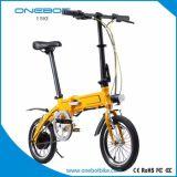 Bike миниого E-Bike велосипеда электрический складывая с педалями