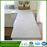 De grootste Plak van de Steen van het Kwarts van Carrara van de Grootte Witte