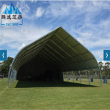 China atacadista 2017 Curved Outdoor Event Tents for Sports Purpose