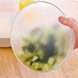 再使用可能なシリコーンの食糧覆いカバー