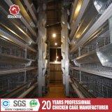 4-Tier un tipo aves de corral acodan la jaula para Nigeria (A-4L120)