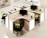 Stazione di lavoro di legno del personale dell'impiegato del gruppo di terminali del divisorio dell'ufficio del MDF (HX- NCD087)