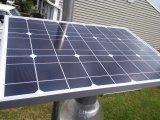 Détecteur de mouvement 12W extérieur tout dans une lumière solaire Integrated de jardin de rue de DEL